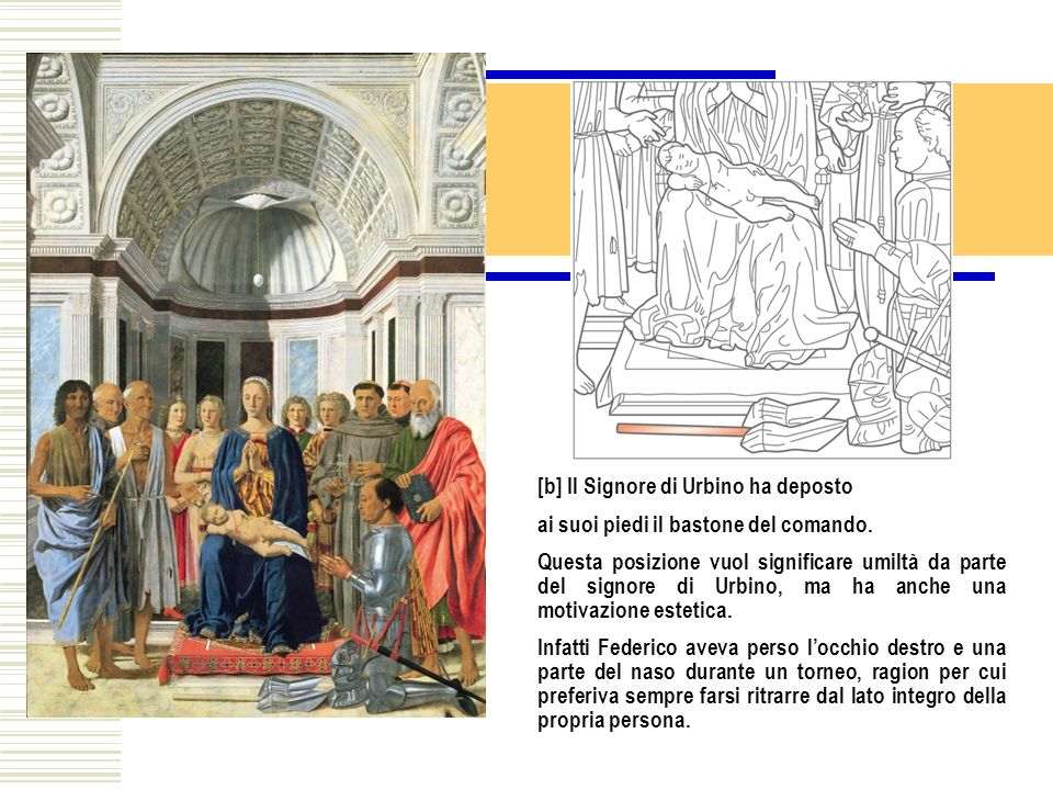 [b] Il Signore di Urbino ha deposto